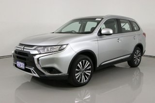 2019 Mitsubishi Outlander ZL MY19 ES 7 Seat (AWD) Silver Continuous Variable Wagon.