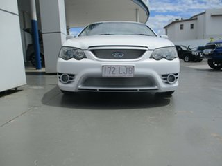 2005 Ford Falcon BF Futura White 4 Speed Auto Seq Sportshift Sedan