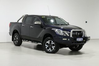 2017 Mazda BT-50 MY16 GT (4x4) Blue 6 Speed Automatic Dual Cab Utility.