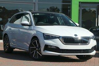 2020 Skoda Scala NW MY20.5 110TSI DSG Launch Edition Moon White 7 Speed Sports Automatic Dual Clutch.