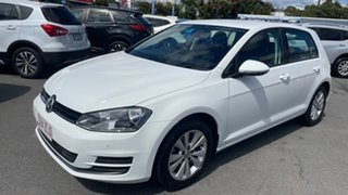 2013 Volkswagen Golf VII MY14 90TSI DSG Pure White 7 Speed Sports Automatic Dual Clutch Hatchback.