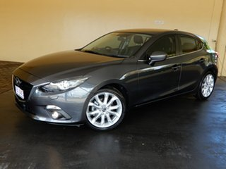 2015 Mazda 3 BM SP25 GT Grey 6 Speed Manual Hatchback