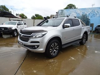 2017 Holden Colorado RG MY17 LTZ Pickup Crew Cab Silver 6 Speed Automatic Utility.