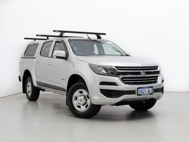 Used Holden Colorado RG MY17 LS (4x4), 2017 Holden Colorado RG MY17 LS (4x4) Silver 6 Speed Automatic Crew Cab Pickup