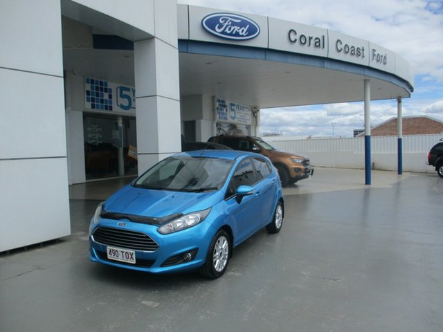 Used Ford Fiesta WZ Trend Bundaberg, 2014 Ford Fiesta WZ Trend Blue 5 Speed Manual Hatchback