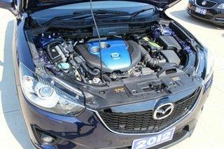 2012 Mazda CX-5 KE1021 Grand Touring SKYACTIV-Drive AWD Blue 6 Speed Sports Automatic Wagon