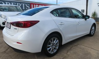 2017 Mazda 3 BN MY17 Maxx White 6 Speed Manual Sedan.