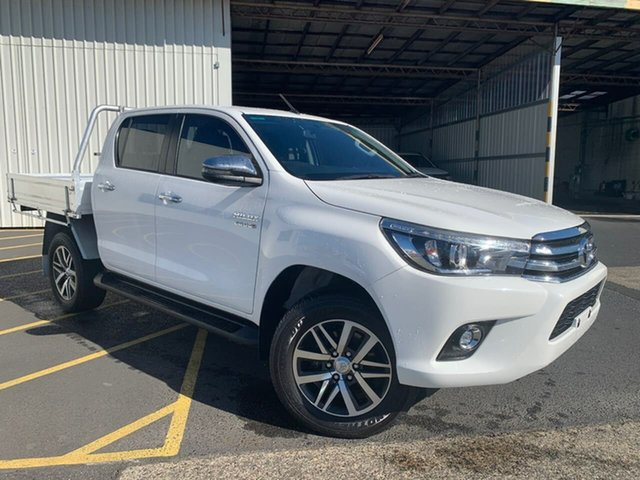 Used Toyota Hilux GUN126R SR5 Double Cab Moonah, 2017 Toyota Hilux GUN126R SR5 Double Cab White 6 Speed Sports Automatic Utility