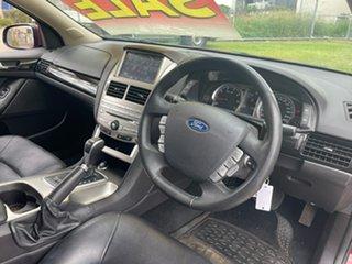 2012 Ford Falcon FG MK2 G6E Red 6 Speed Automatic Sedan