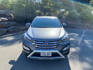 2014 Hyundai Santa Fe DM MY14 Elite Titanium Silver 6 Speed Sports Automatic Wagon
