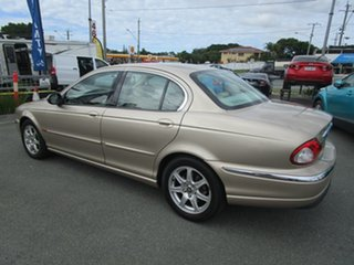 2003 Jaguar X-Type X400 MY04 Champagne 5 Speed Automatic Sedan.