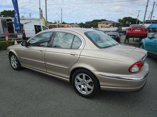 2003 Jaguar X-Type X400 MY04 Champagne 5 Speed Automatic Sedan.