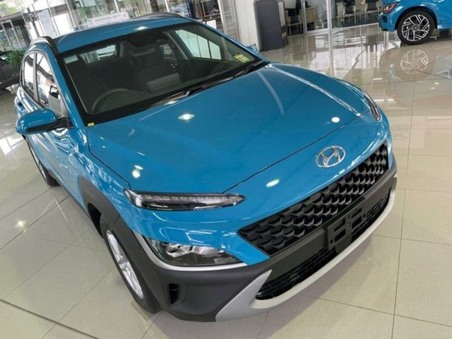 New Hyundai Kona Os.v4 MY21 2WD Springwood, 2021 Hyundai Kona Os.v4 MY21 2WD Dive in Jeju 8 Speed Constant Variable Wagon
