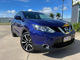2017 Nissan Qashqai J11 TI Blue/270617 1 Speed Constant Variable Wagon.