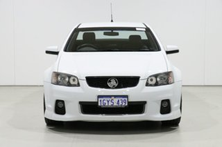 2012 Holden Commodore VE II MY12 SS Thunder White 6 Speed Automatic Utility.