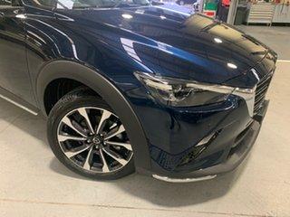 2021 Mazda CX-3 DK4W7A Akari SKYACTIV-Drive i-ACTIV AWD Deep Crystal Blue 6 Speed Sports Automatic.