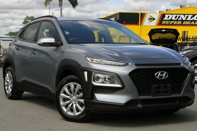 Used Hyundai Kona OS.2 MY19 Go 2WD Rocklea, 2019 Hyundai Kona OS.2 MY19 Go 2WD Lake Silver 6 Speed Sports Automatic Wagon