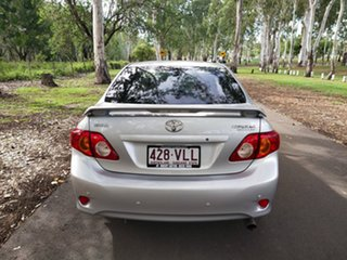 2009 Toyota Corolla ZRE152R Conquest Silver 4 Speed Automatic Sedan