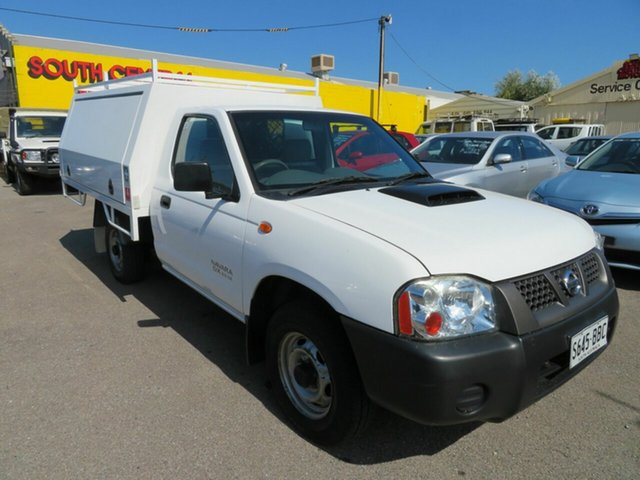 Used Nissan Navara D22 Series 5 DX (4x2) Morphett Vale, 2013 Nissan Navara D22 Series 5 DX (4x2) White 5 Speed Manual Cab Chassis