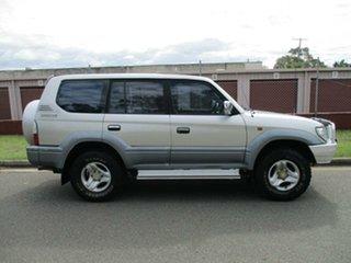 2001 Toyota Landcruiser Prado VZJ95R VX Grey 4 Speed Automatic Wagon.