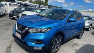 2017 Nissan Qashqai J11 Series 2 ST-L X-tronic Vivid Blue 1 Speed Constant Variable Wagon.