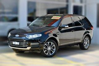2012 Ford Territory SZ Titanium Seq Sport Shift Black 6 Speed Sports Automatic Wagon.
