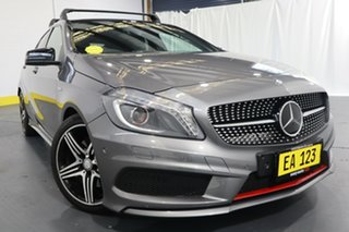2013 Mercedes-Benz A-Class W176 A250 D-CT Sport Grey 7 Speed Sports Automatic Dual Clutch Hatchback.