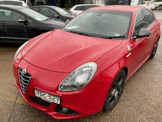 2015 Alfa Romeo Giulietta Series 1 Quadrifoglio Verde TCT Red 6 Speed Sports Automatic Dual Clutch.