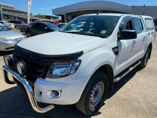 2015 Ford Ranger PX XL White 6 Speed Sports Automatic Cab Chassis.