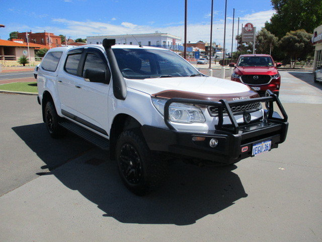 Used Holden Colorado RG MY14 LTZ (4x4) Katanning, 2013 Holden Colorado RG MY14 LTZ (4x4) White 6 Speed Automatic Dual Cab