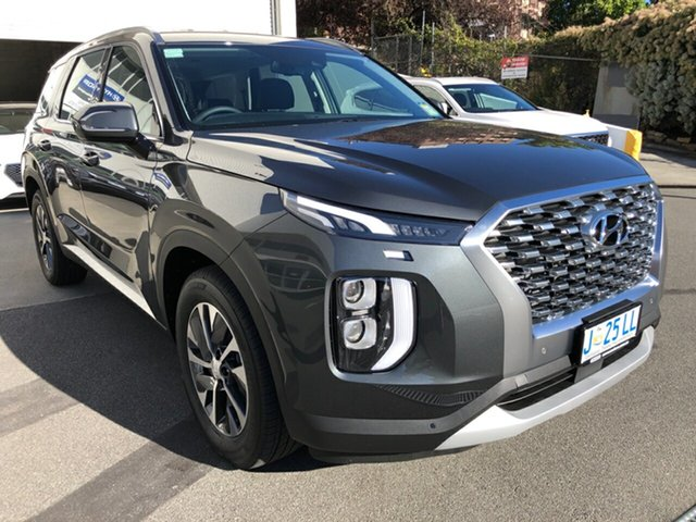 Demo Hyundai Palisade LX2.V1 MY21 AWD Hobart, 2020 Hyundai Palisade LX2.V1 MY21 AWD Rain Forest 8 Speed Sports Automatic Wagon