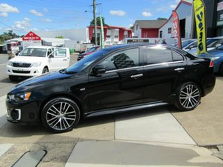 2017 Mitsubishi Lancer CF MY17 LS Black 6 Speed Constant Variable Sedan