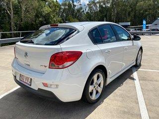 2011 Holden Cruze JH MY12 SRi V White 6 Speed Automatic Hatchback.