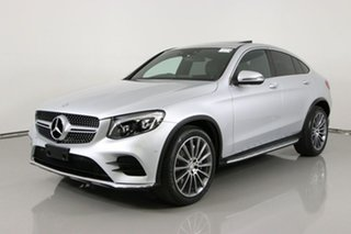 2016 Mercedes-Benz GLC220D 253 MY17 Silver 9 Speed Automatic G-Tronic Coupe.