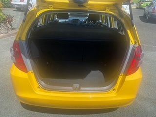 2008 Honda Jazz GE MY09 GLi Yellow 5 Speed Manual Hatchback