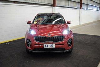 2017 Kia Sportage QL MY17 SLi 2WD Red/Black 6 Speed Sports Automatic Wagon.