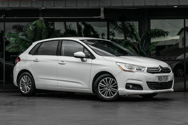 Used Citroen C4 B7 Seduction Bowen Hills, 2013 Citroen C4 B7 Seduction White 4 Speed Sports Automatic Hatchback