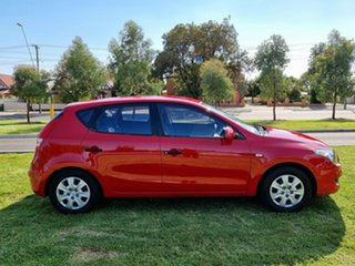 2011 Hyundai i30 FD MY11 SX Red 4 Speed Automatic Hatchback.