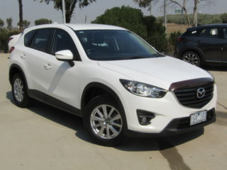 2016 Mazda CX-5 KE1022 Maxx SKYACTIV-Drive AWD Sport White 6 Speed Sports Automatic Wagon.