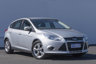 2012 Ford Focus LW MkII Sport PwrShift Silver 6 Speed Sports Automatic Dual Clutch Hatchback.