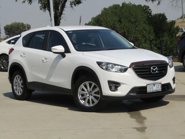 Used Mazda CX-5 KE1022 Maxx SKYACTIV-Drive AWD Sport Ravenhall, 2016 Mazda CX-5 KE1022 Maxx SKYACTIV-Drive AWD Sport White 6 Speed Sports Automatic Wagon