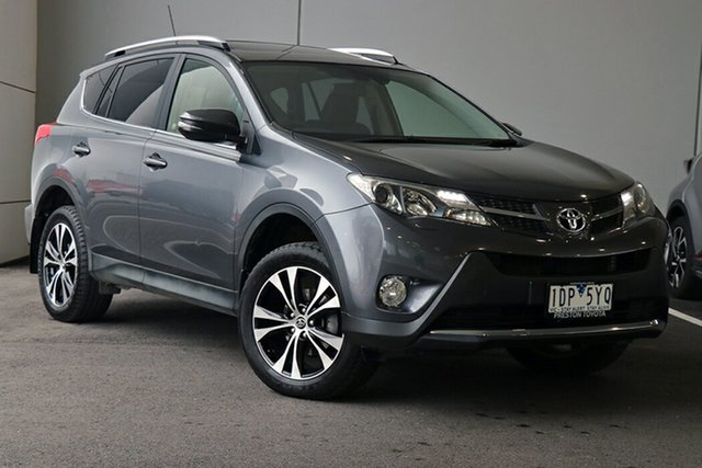 Pre-Owned Toyota RAV4 ASA44R MY14 Cruiser AWD South Morang, 2014 Toyota RAV4 ASA44R MY14 Cruiser AWD Grey 6 Speed Sports Automatic Wagon