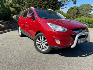 2011 Hyundai ix35 LM MY11 Highlander AWD Red/Black 6 Speed Sports Automatic Wagon