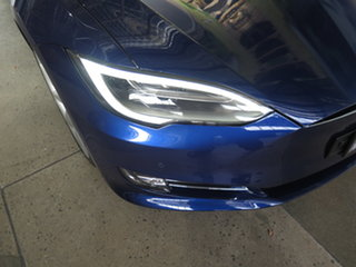 2017 Tesla Model S P100D Blue 1 Speed Automatic Hatchback