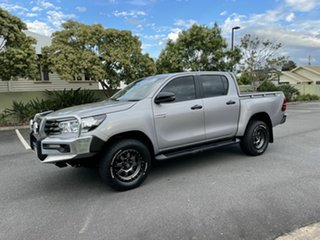 2018 Toyota Hilux GUN126R SR Silver 6 Speed Manual Dual Cab