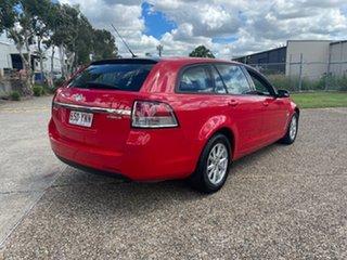 2014 Holden Commodore VF Evoke Red 6 Speed Automatic Sportswagon.
