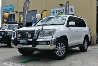 2008 Toyota Landcruiser VDJ200R VX (4x4) White 6 Speed Automatic Wagon.