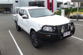 2018 Nissan Navara D23 S3 RX White 6 Speed Manual Cab Chassis.