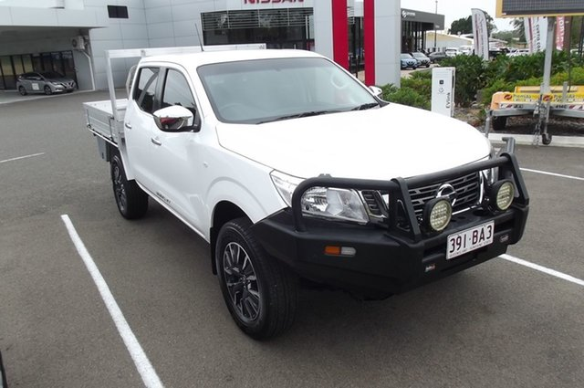 Used Nissan Navara D23 S3 RX South Gladstone, 2018 Nissan Navara D23 S3 RX White 6 Speed Manual Cab Chassis
