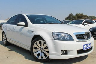 2014 Holden Caprice WN MY14 White 6 Speed Sports Automatic Sedan
